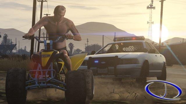 GTA V oyun içi ekran görüntüleri