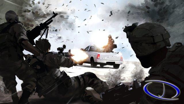 Battlefield 4 karakterleri ve konsept tasarımlar