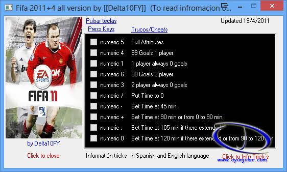 FIFA 11 Trainer