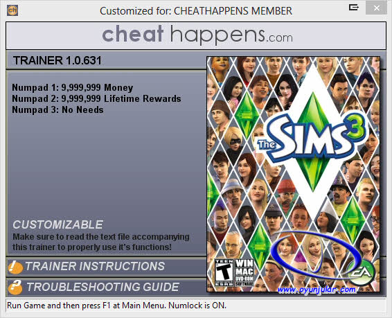 The Sims 3 Trainer